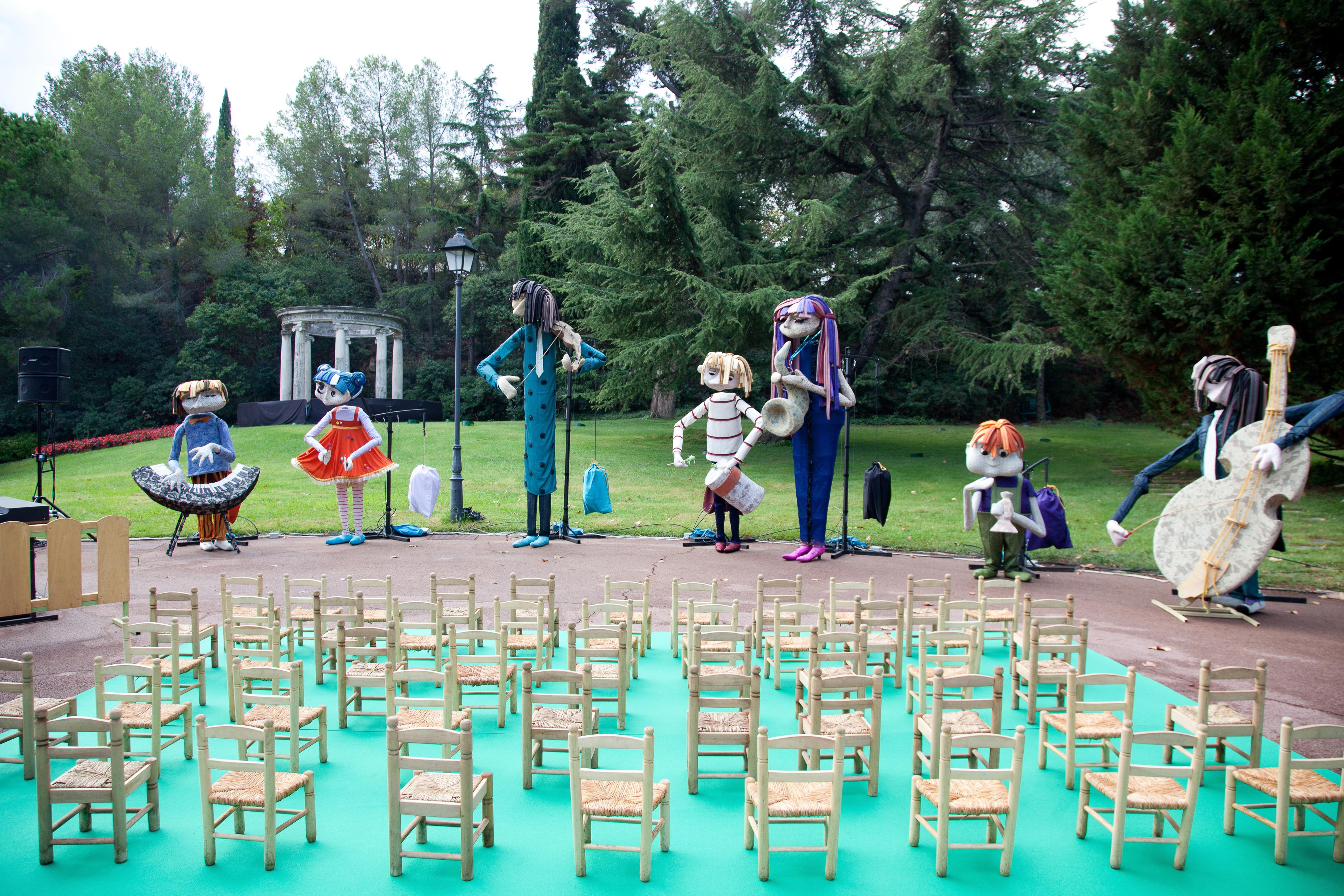 Músics amb cadires